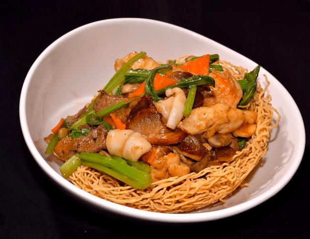 Noodle Dish japan fast food roamilicious