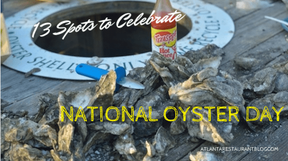 Where to celebrate #nationaloysterday