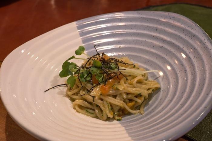 Sea-urchin-pasta-Doraku-sushi-restaurant
