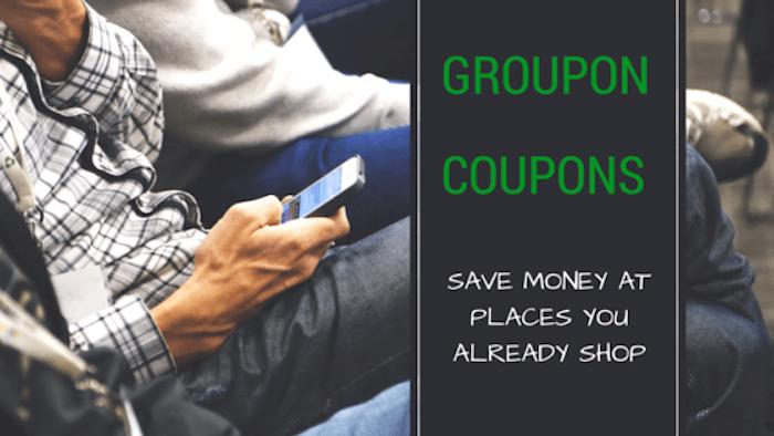 Groupon-coupons-Save Money