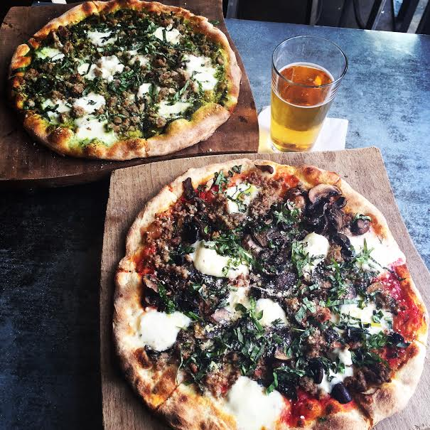 industry tavern buckhead pizzas