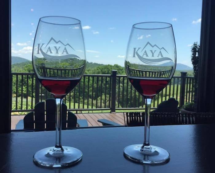 kaya vineyards in Helen, GA