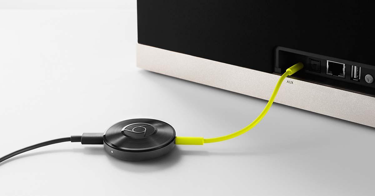 Google chromecast audio: inexpensive alternative to surround