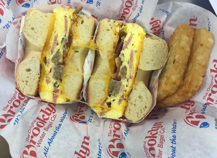 brooklyn water bagels breakfast bagels