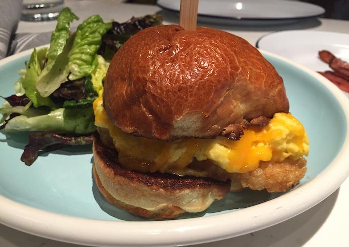 whiskey bird breakfast sandwich