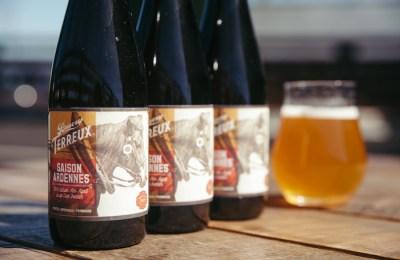 bruery -Saison Ardennes beer