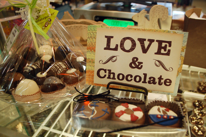 Chocolatepaper in downtown Roanoke