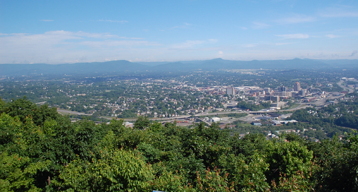 Overlook by the Roanoke Star