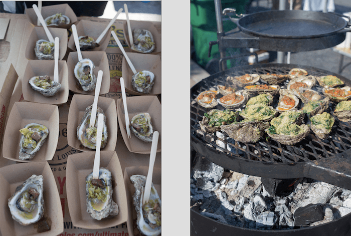 all you can eat oysters festival - Roamilicious