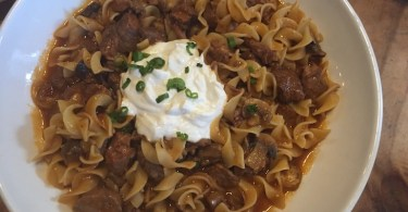 Instant pot one pot beef stroganoff recipe