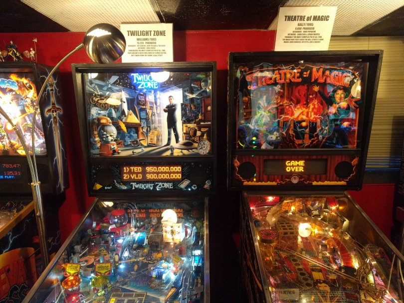 Pinball Museum in Asheville