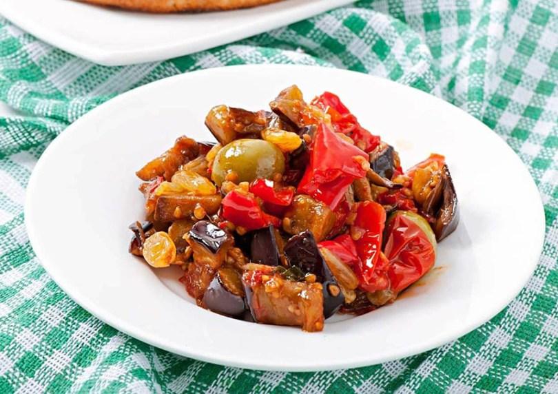 Sicilian Eggplant Caponata Recipe