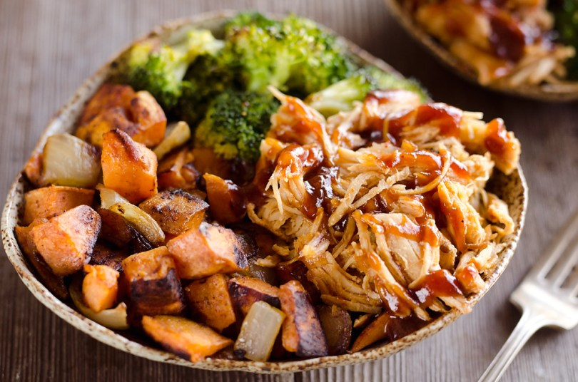 BBQ-Chicken-Roasted-Sweet-Potato-Bowls-roamilicious