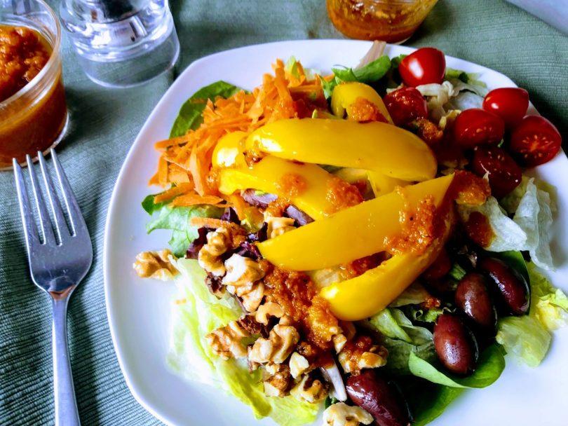 Pumpkin Vinaigrette Salad-Recipe