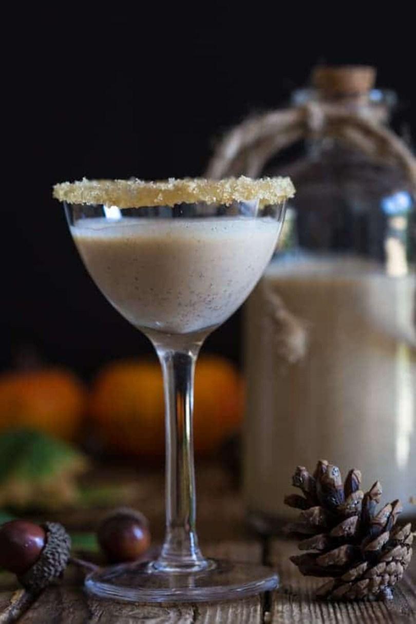 Homemade Pumpkin Pie Cream Liqueur