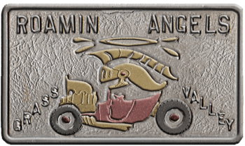Roamin Angels 1962 Car Plaque