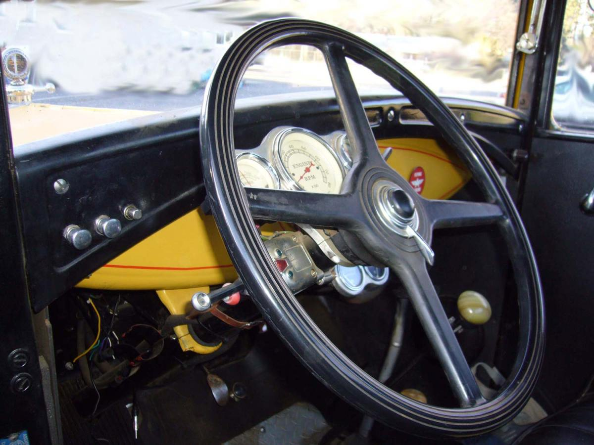 1930 Ford Tow ModelAA Truck - interior -Ray H.
