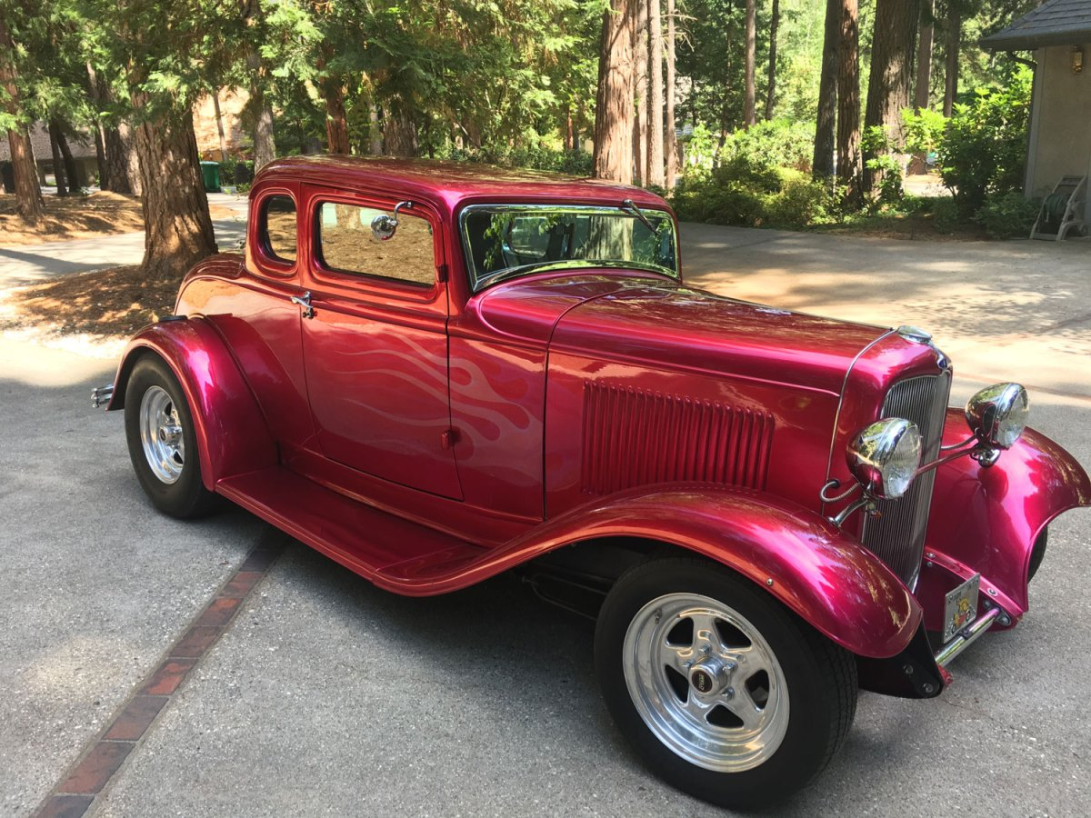1932 Ford 5-Window Coupe - Richard & Barb S.