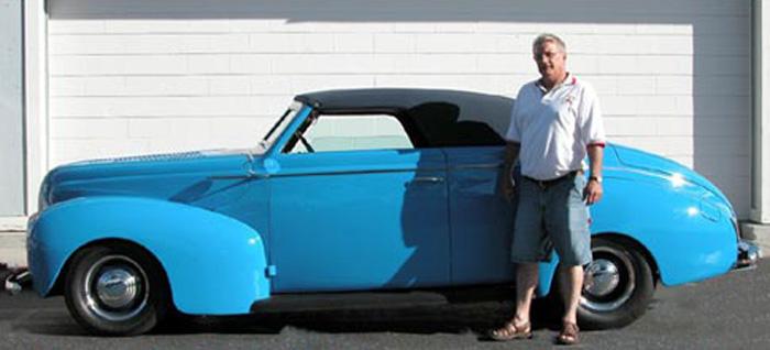 1940 Mercury Convertible - Dusty S.