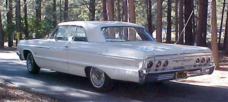 1964 Chevrolet Impala backview Karin & Bill R.