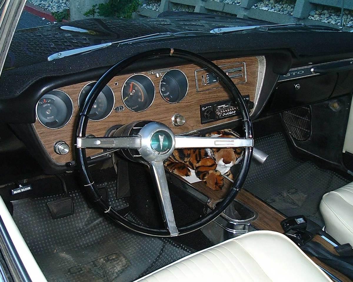 1967 Pontiac GTO interior - Dale L.