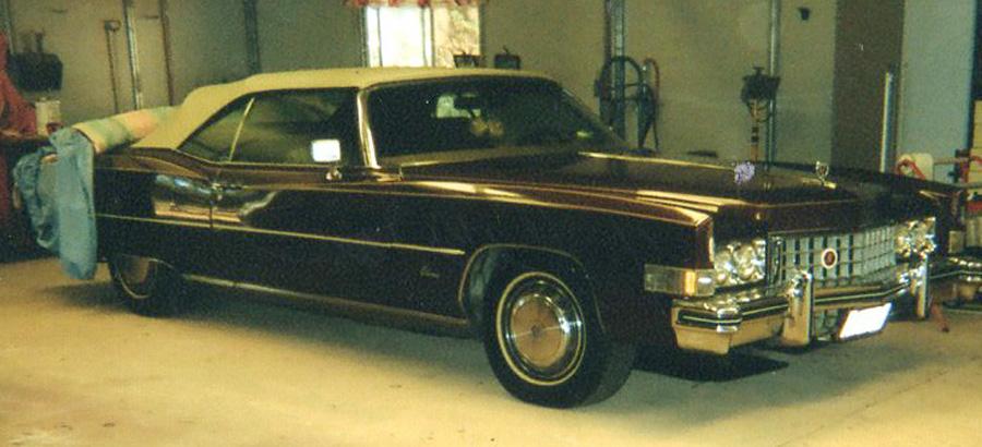 1972 Cadillac ElDorado convertible-Sandy C.