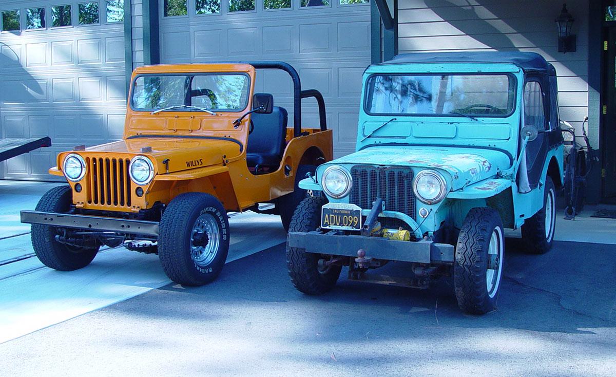 1949 & 1952 Willys CJ3 A-LewD