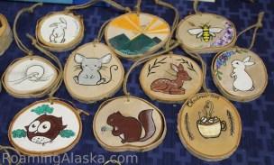 Birch Tree ornaments