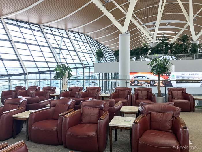 Air China Shanghai T2 Star Alliance Lounge More seats