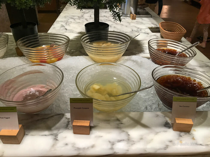 DoubleTree JB Makan Kitchen Buffet Breakfast Yogurt