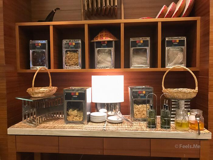 DoubleTree JB Makan Kitchen Buffet Breakfast Chips corner