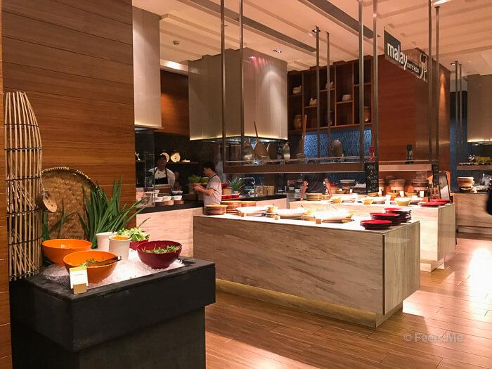 DoubleTree JB Makan Kitchen Buffet Breakfast Malay corner