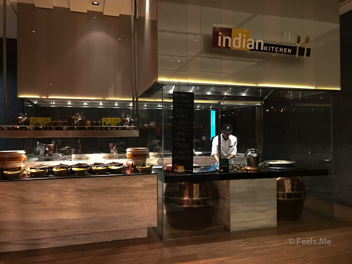 DoubleTree JB Makan Kitchen Buffet Breakfast Indian Kitchen
