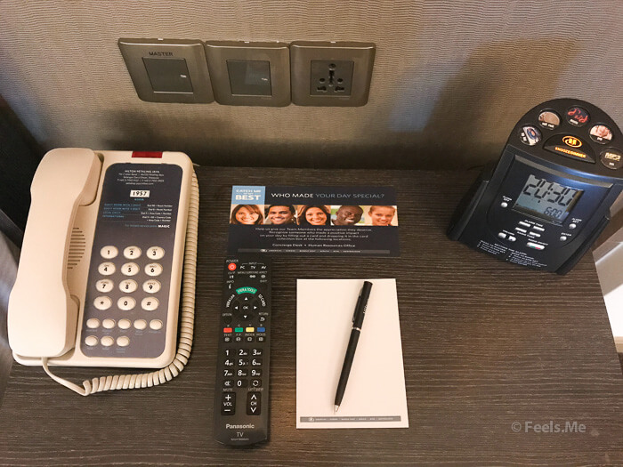 Hilton Petaling Jaya KL Classic HIlton phone and Clock