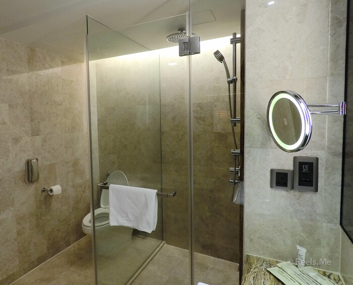Hilton Petaling Jaya KL Bathroom and shower
