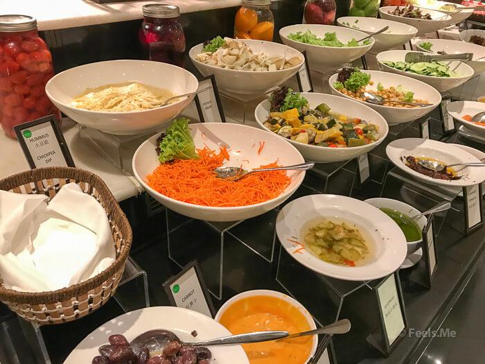 Hilton Petaling Jaya KL Salad