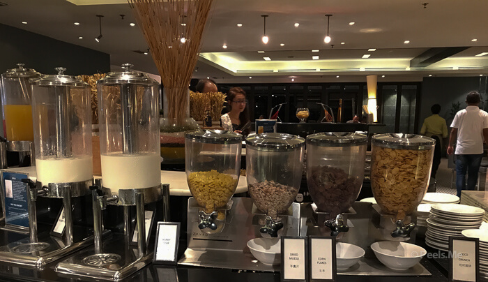 Hilton Petaling Jaya KL Breakfast Cornflakes