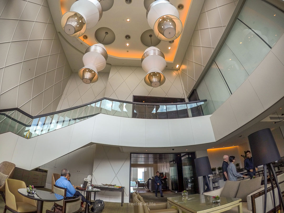 Hilton Kuala Lumpur Executive Lounge High Ceiling