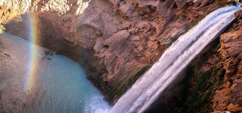 Hiking Havasupai Falls