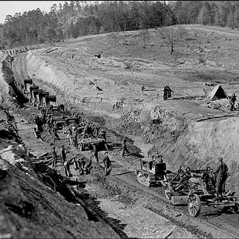 Daingerfield State Park Construction