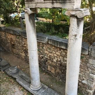 Roman ruins, Plaka