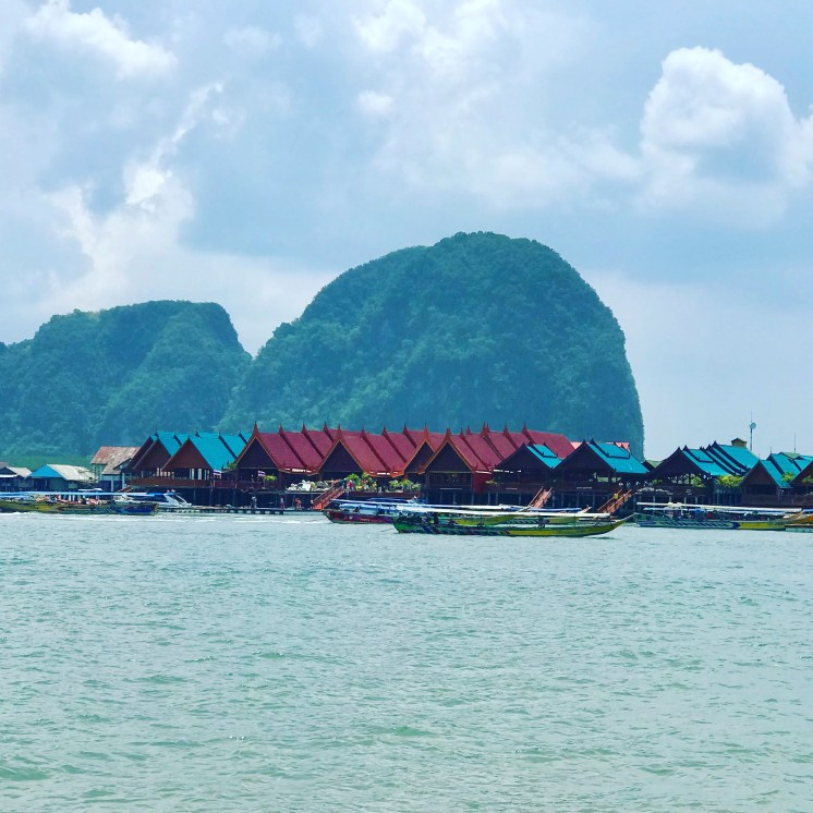 Koh Panyi, Floating Sea Gypsy Village