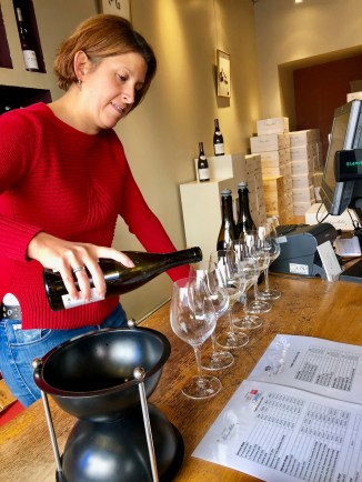 Wine tasting in Sancerre @jamiewisewerner