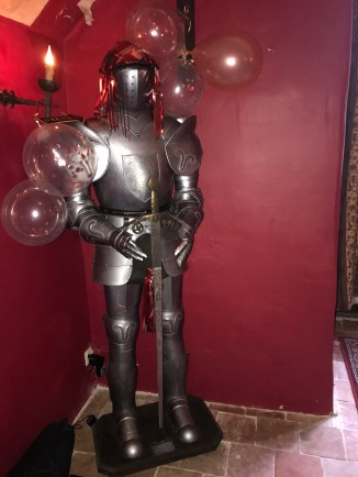 Knight in shining armour
