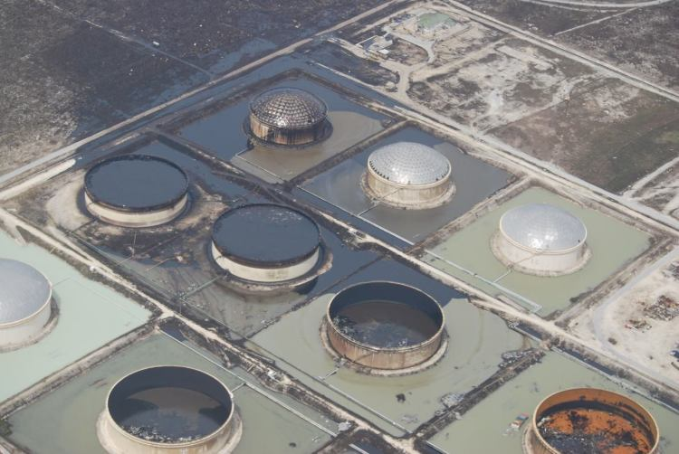 Equinor - oil spill - Grand Bahama