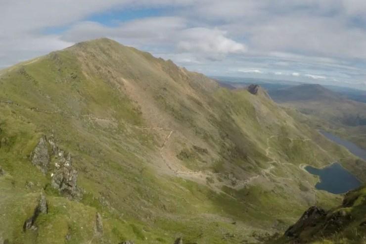 Climbing Mount Snowdon Using The Pyg Track