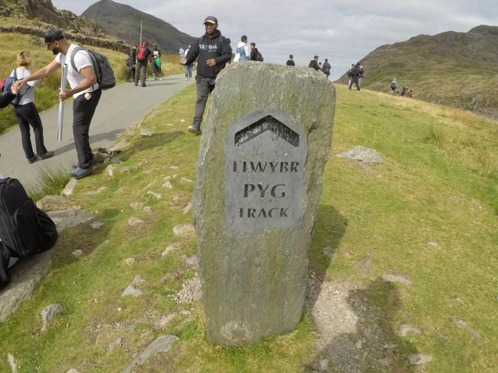 Climbing Mount Snowdon - PYG Track Starting Point