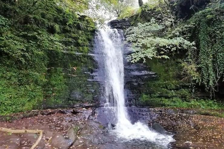 talybont waterfalls walk