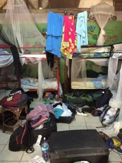 Messy bedroom (Costa Rica Animal Rescue Centre)