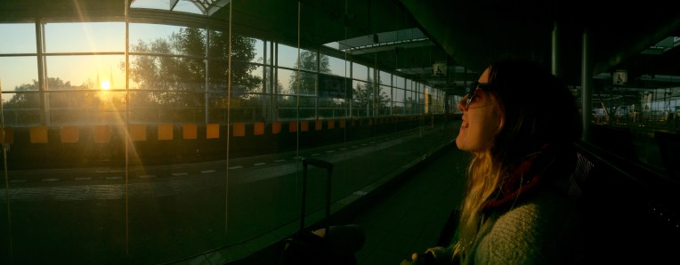 Sunrise at Duivendrecht Station